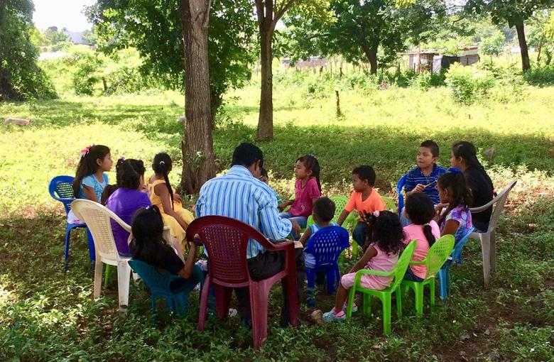 childrens ministry Nicaragua